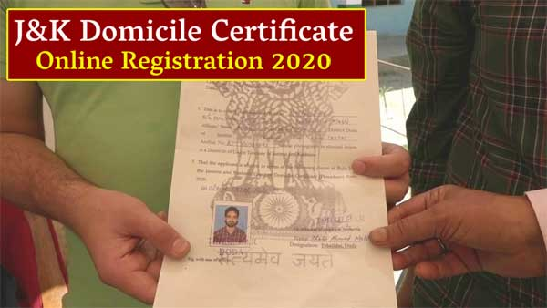 application form for domicile certificate in jammu and kashmir